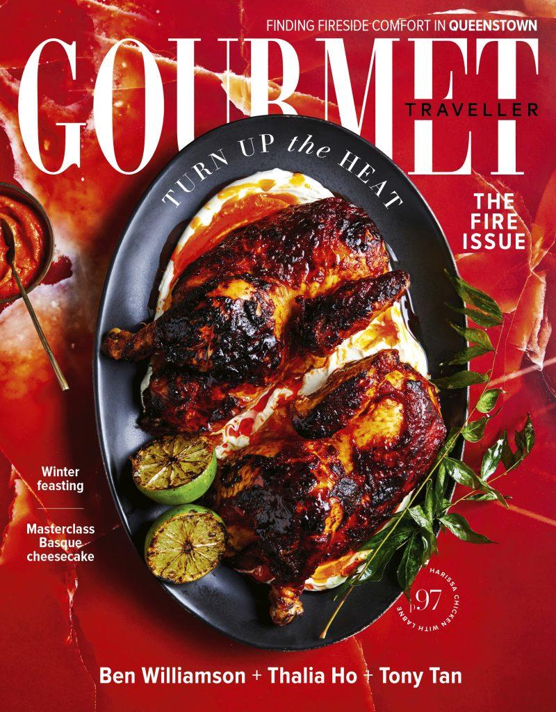 The Gourmet Traveller magazine
